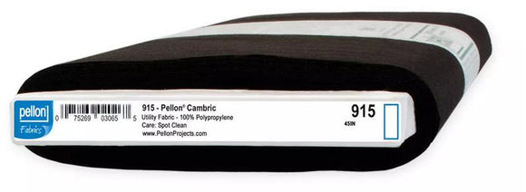 Pellon Cambric 100% Polypropylene Non-Woven Interfacing - 915 - Filter Material - 1/2 yard