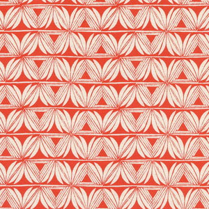 Cotton & Steel - Santa Fe by Sara Watts - Pottery - Red Unbleached Cotton Fabric - 1/2 Yard