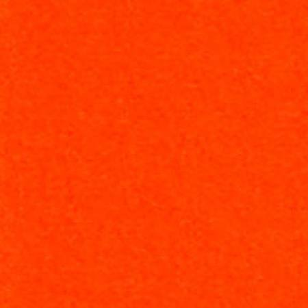 Robert Kaufman Flannel Solid Tangerine - 1/2 Yard
