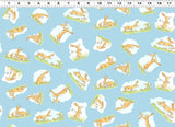 Clothworks - Guess How Much I Love You™ Storybook Fabric - Y2872-98 - 1/2 Yard