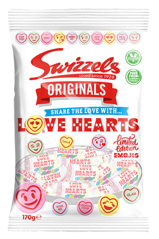 Swizzels Love Hearts 170g