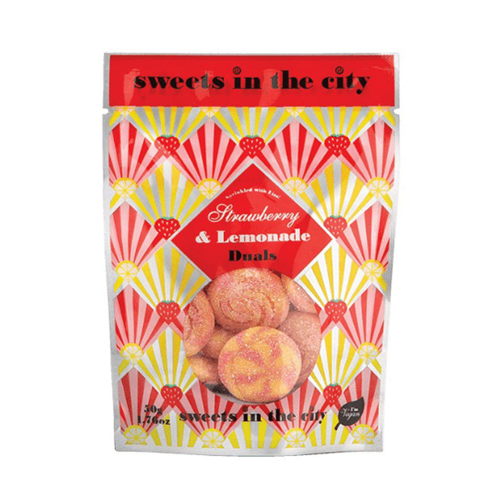 SWEETS IN THE CITY Fraise et Limonade 50g