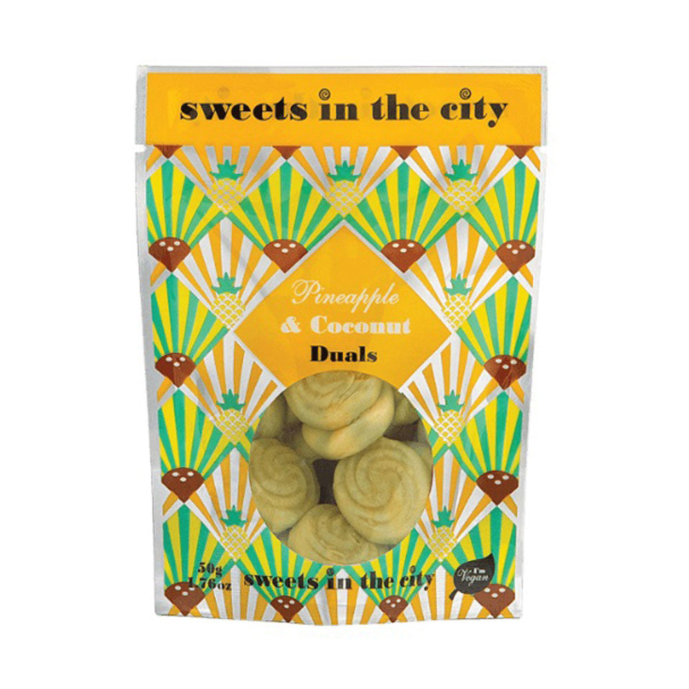 SWEETS IN THE CITY Ananas et Noix de Coco 50g