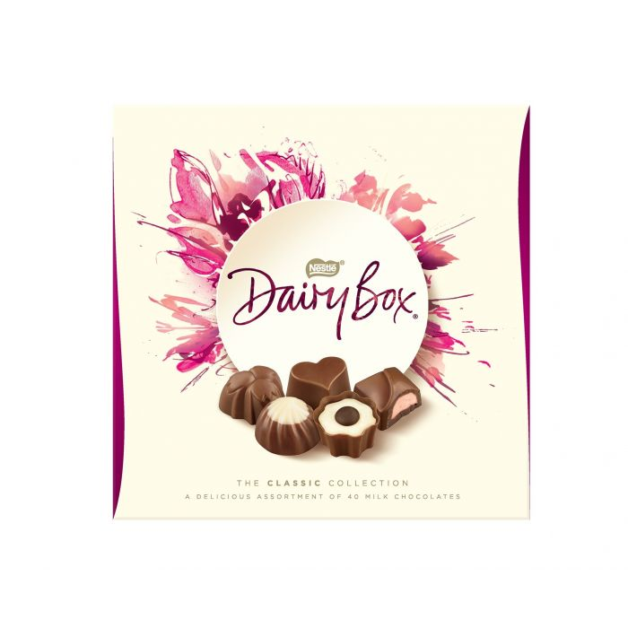 Dairy Box : Sélection de Chocolat au lait 360g