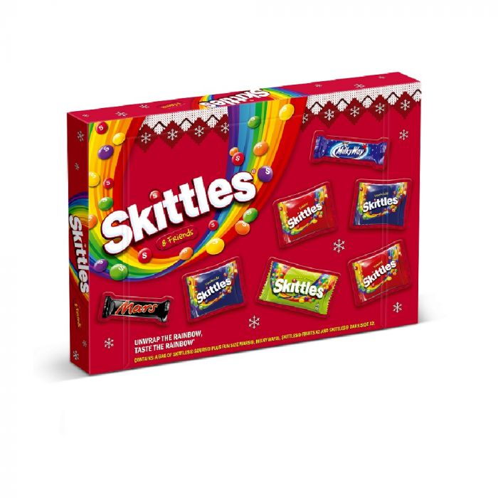 Skittles & Friends Sélection de Noël -  150.5g