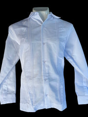 Guayabera de lino formal