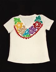 Embroidered traditional collar