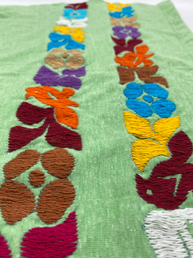 Double Embroidered Strip