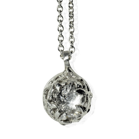 Inner Sprit Petit Silver Necklace