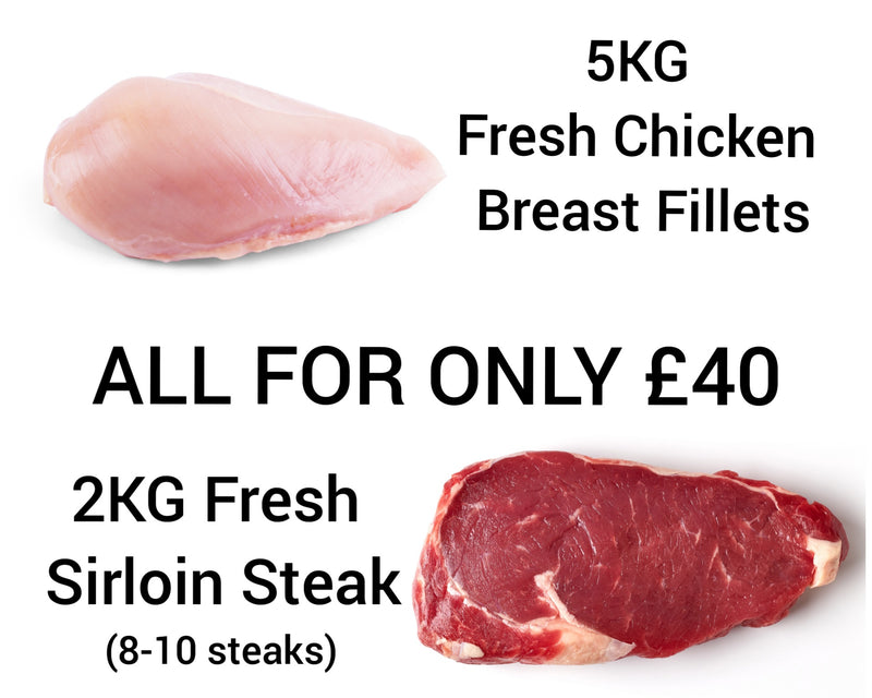 Chicken & Sirloin Steak Special!