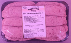 Best Pork & Black Pepper Sausages 1 kilo
