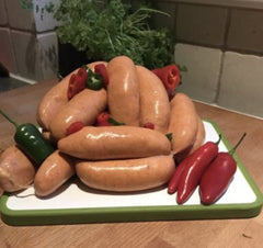 Handmade Pork & Chilli Sausages