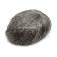 invisible lace frontal men wigs natural peruk toupee men human hair full swiss lace base
