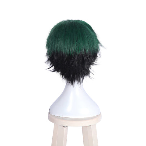 L-email wig New Men My Hero Academia Cosplay Wigs Izuku Midoriya and Shouto Todoroki Short Synthetic Hair Perucas Cosplay Wig
