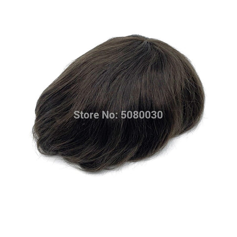 men lace wig full swiss lace man wig human hair bleached knot free shipping