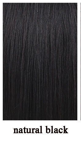 DIFEI High temperature synthetic wig short straight hair with bangs hand-woven black brown wig for men