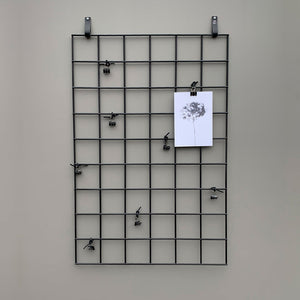 'HANG IT' opslagstavle – 60×90 cm – SORT