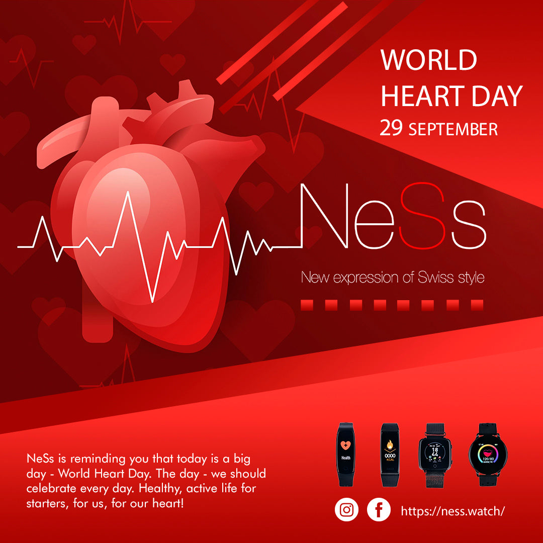 World heart Day 2020 with NeSs smart devices
