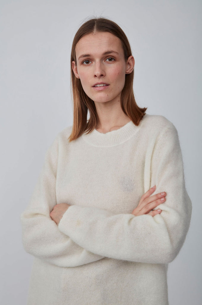 Just Female - Code Knit Papyrus