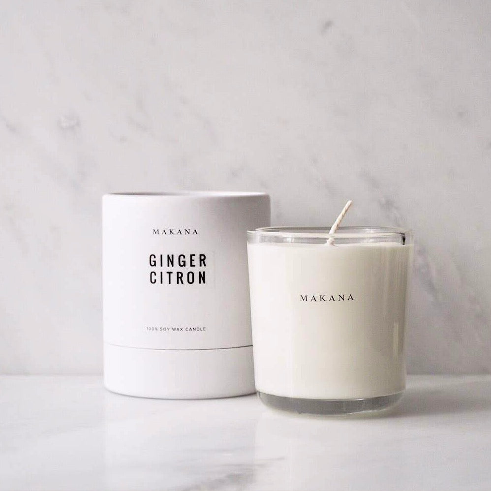 Ginger Citron Candle