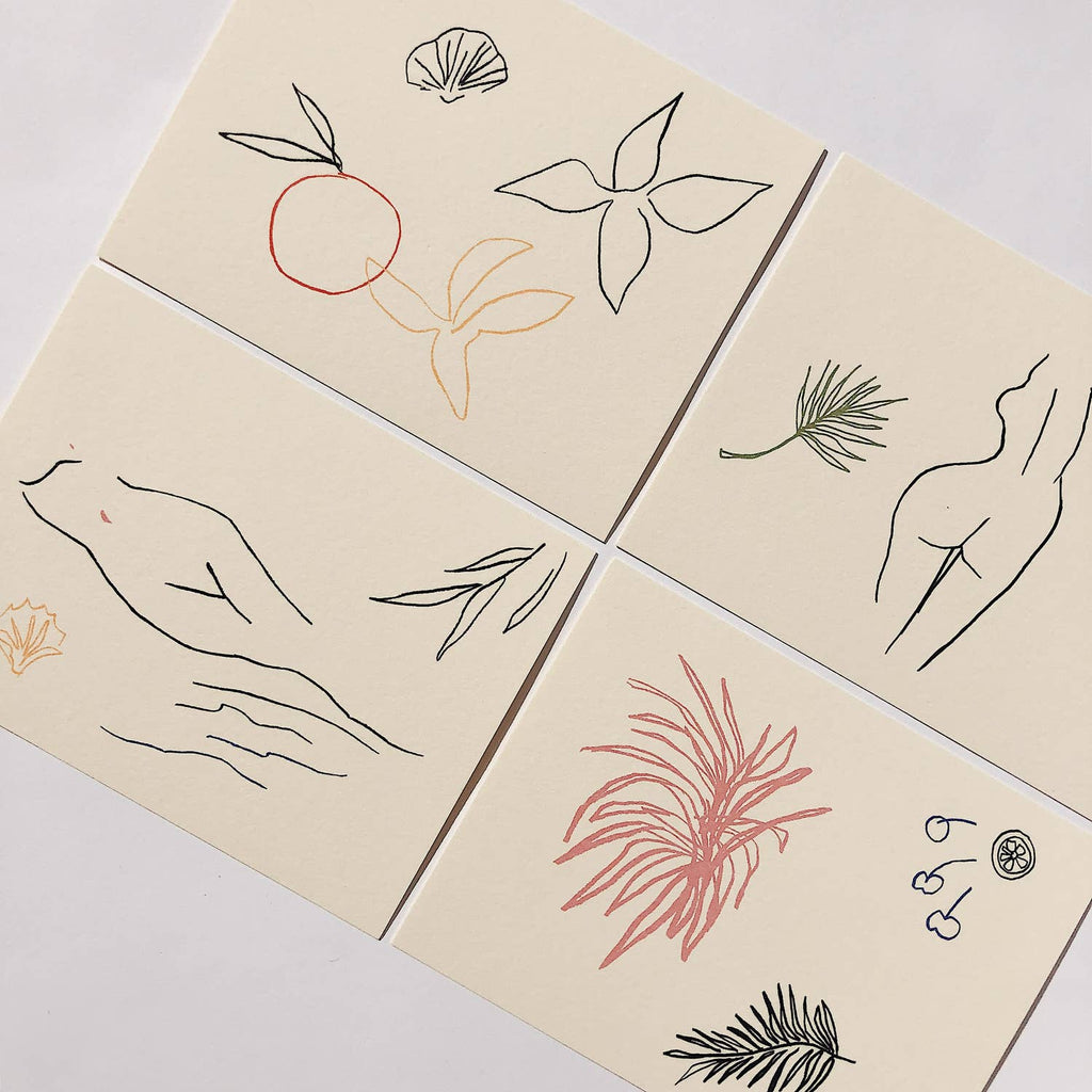 Wilde House Paper - Fauna Notecard Set
