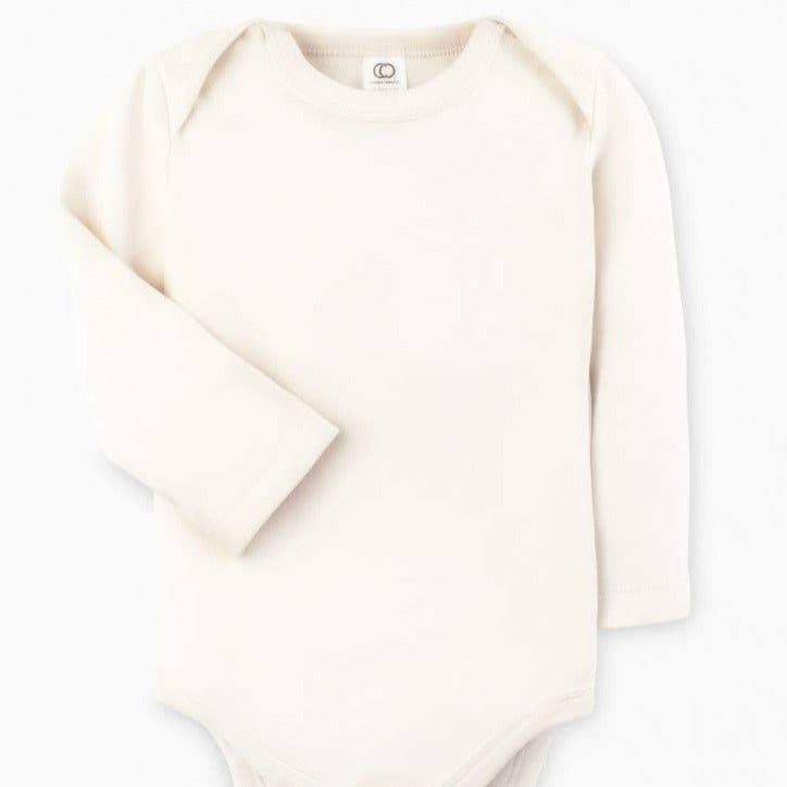Colored Organics - Long Sleeve Classic Bodysuit Natural
