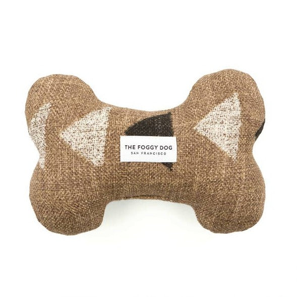 The Foggy Dog - Amani Clay Dog Bone Squeaky Toy