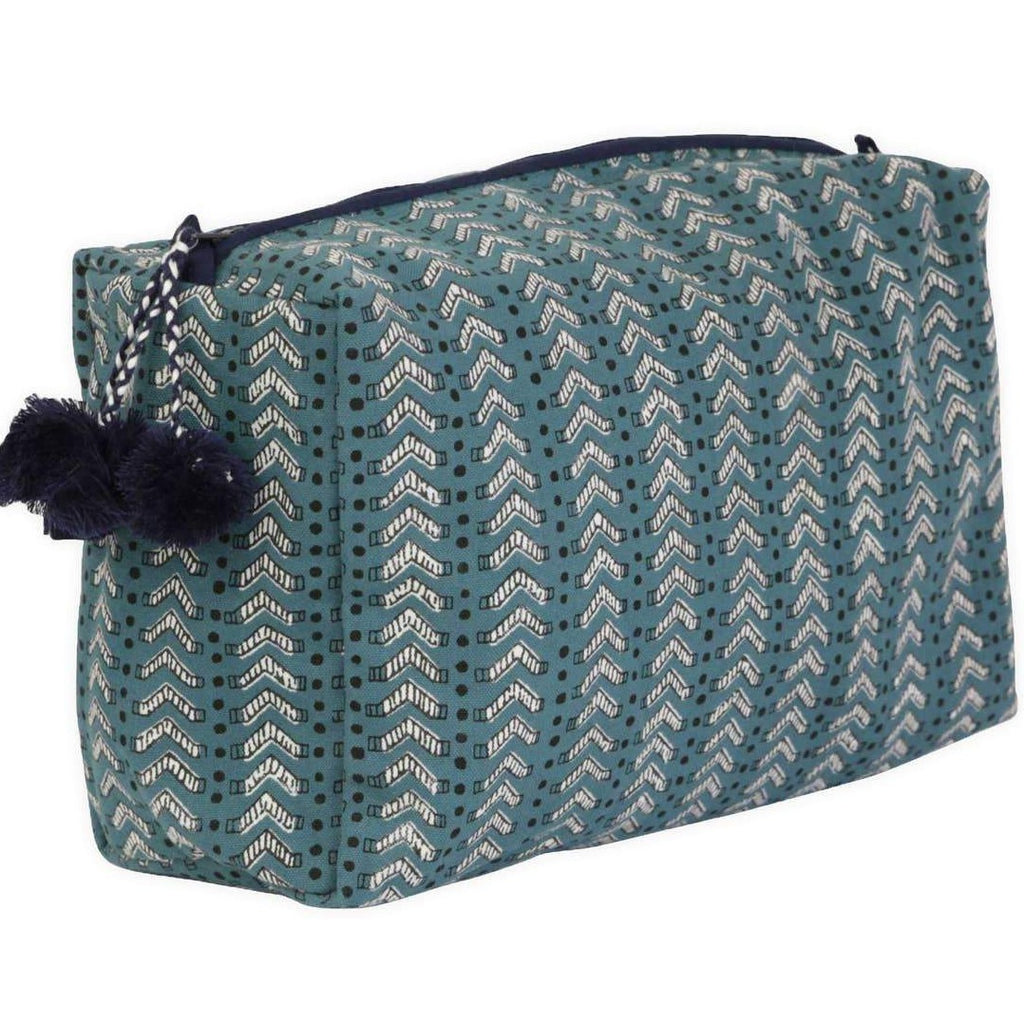 Graymarket -Bath Teal Toiletry Bag