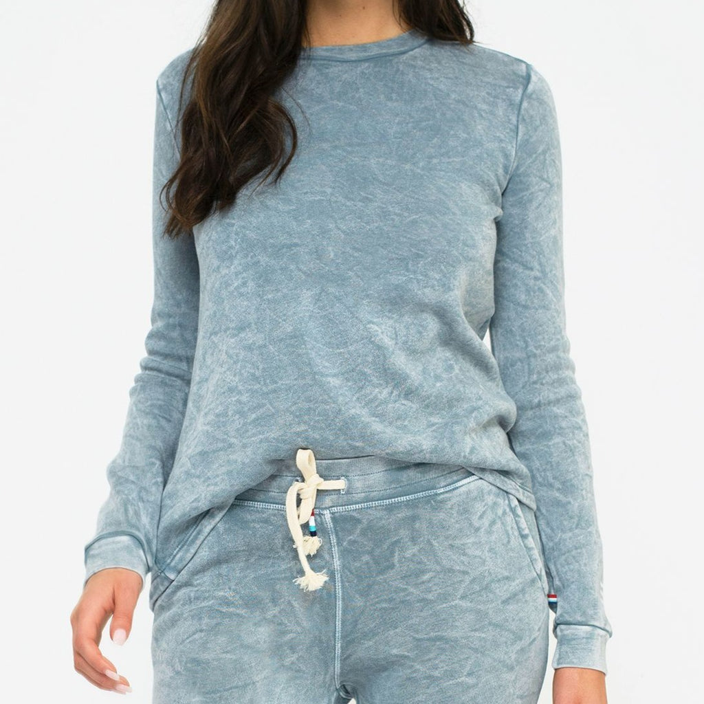 Sol Angeles - Baja High Low Pullover - Cloud