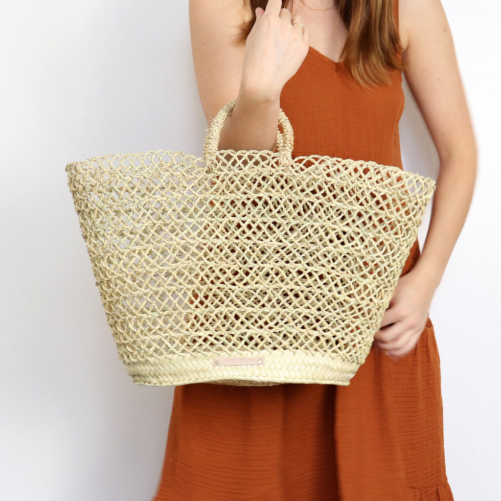 Albufeira French Straw Basket