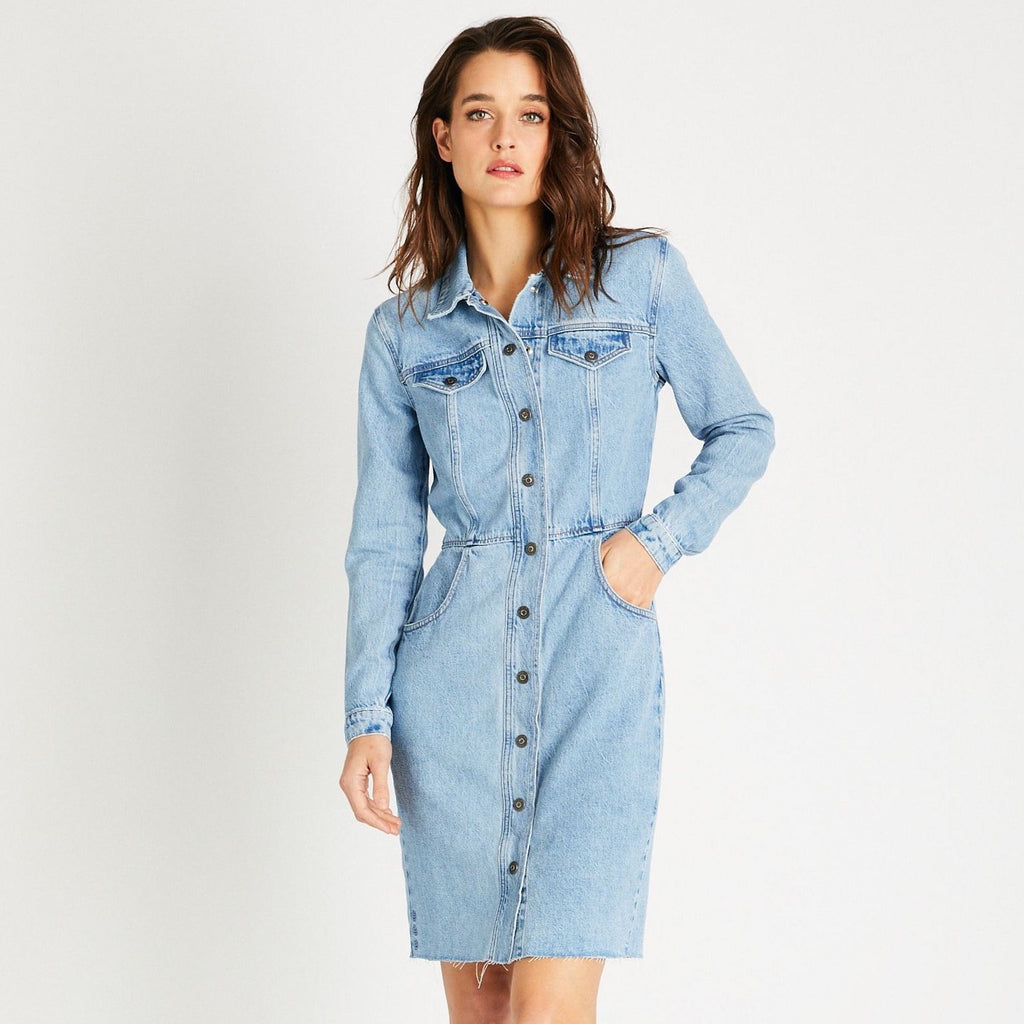 Etica - Jordyn Dress Ice Blue Indigo