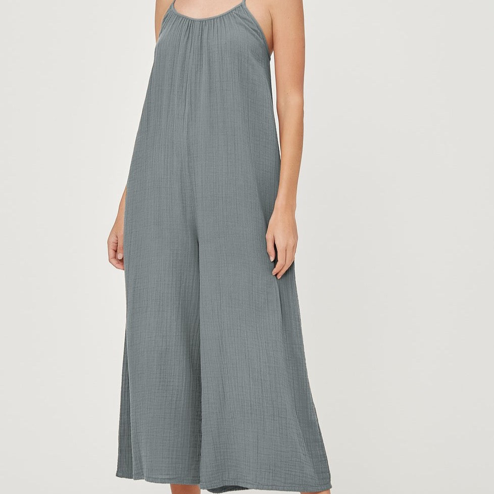 LACAUSA - Woodstock Jumpsuit Sage