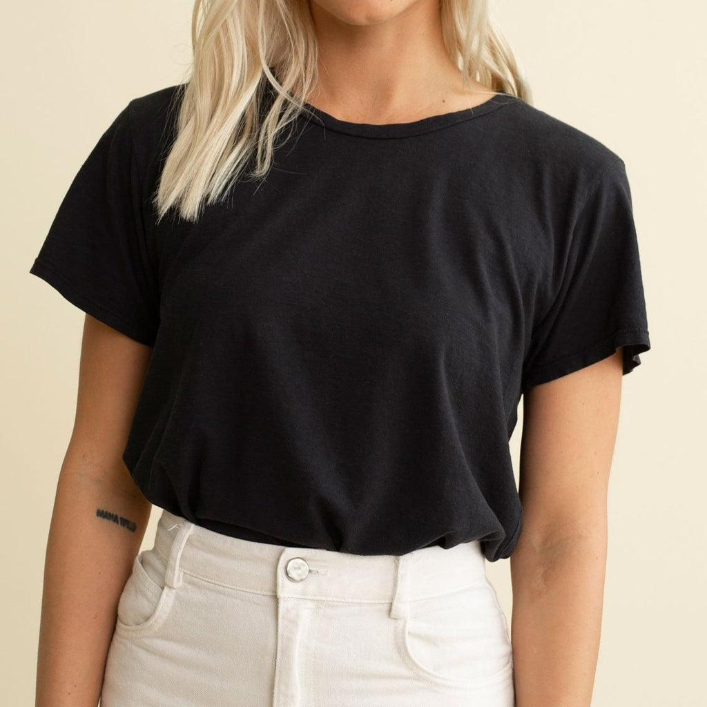 Jungmaven Ojai Tee in Black