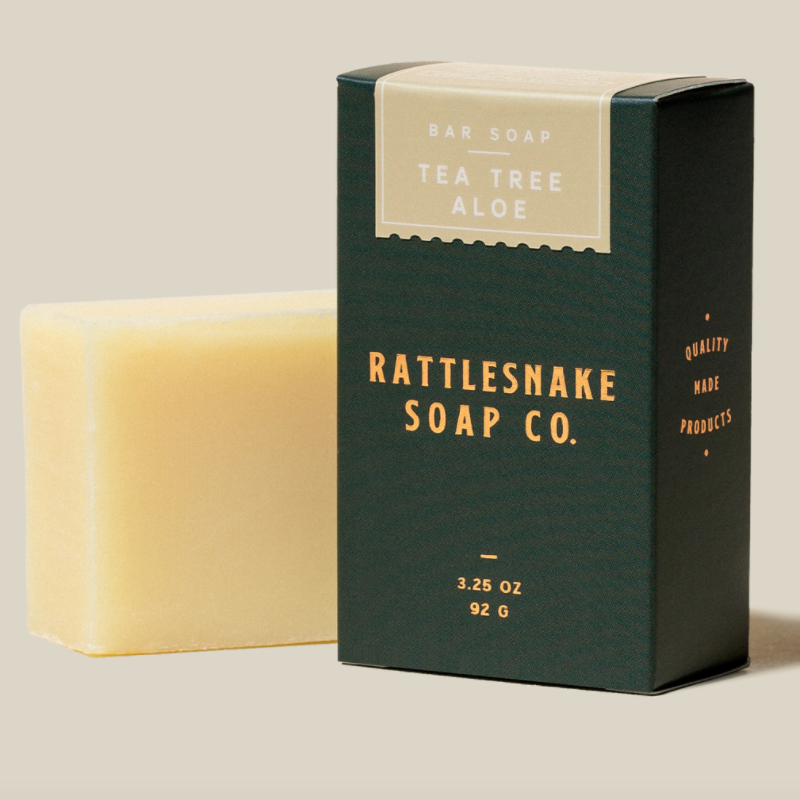 Rattlesnake - Tea Tree/ Aloe Bar Soap
