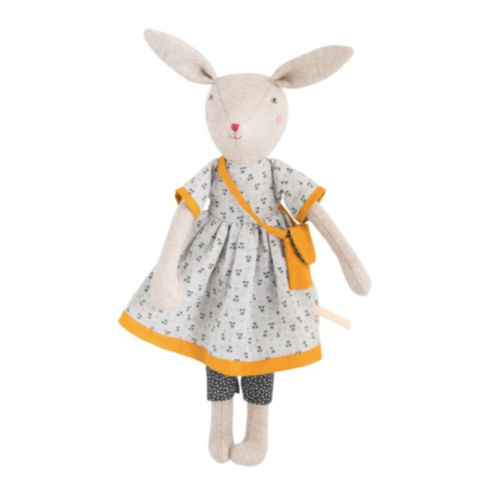 Moulin Roty - Rose the Mommy Rabbit