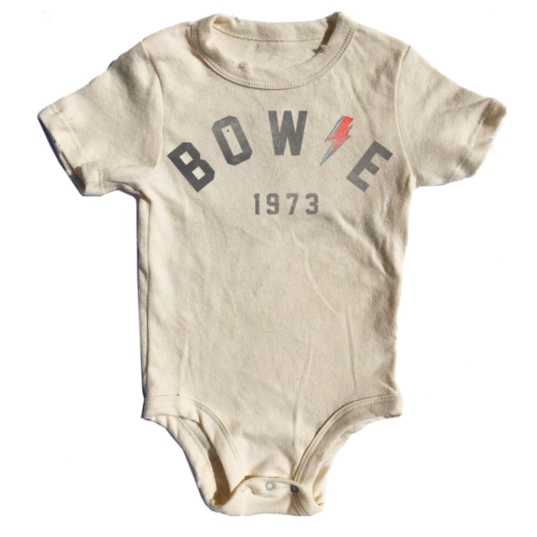Rowdy Sprout - Bowie Simple Short Sleeve Onesie