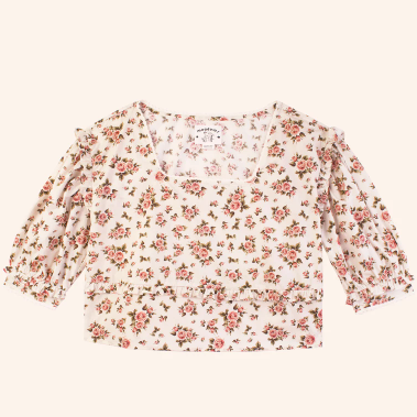 Meadows- Daphe Top in Roses