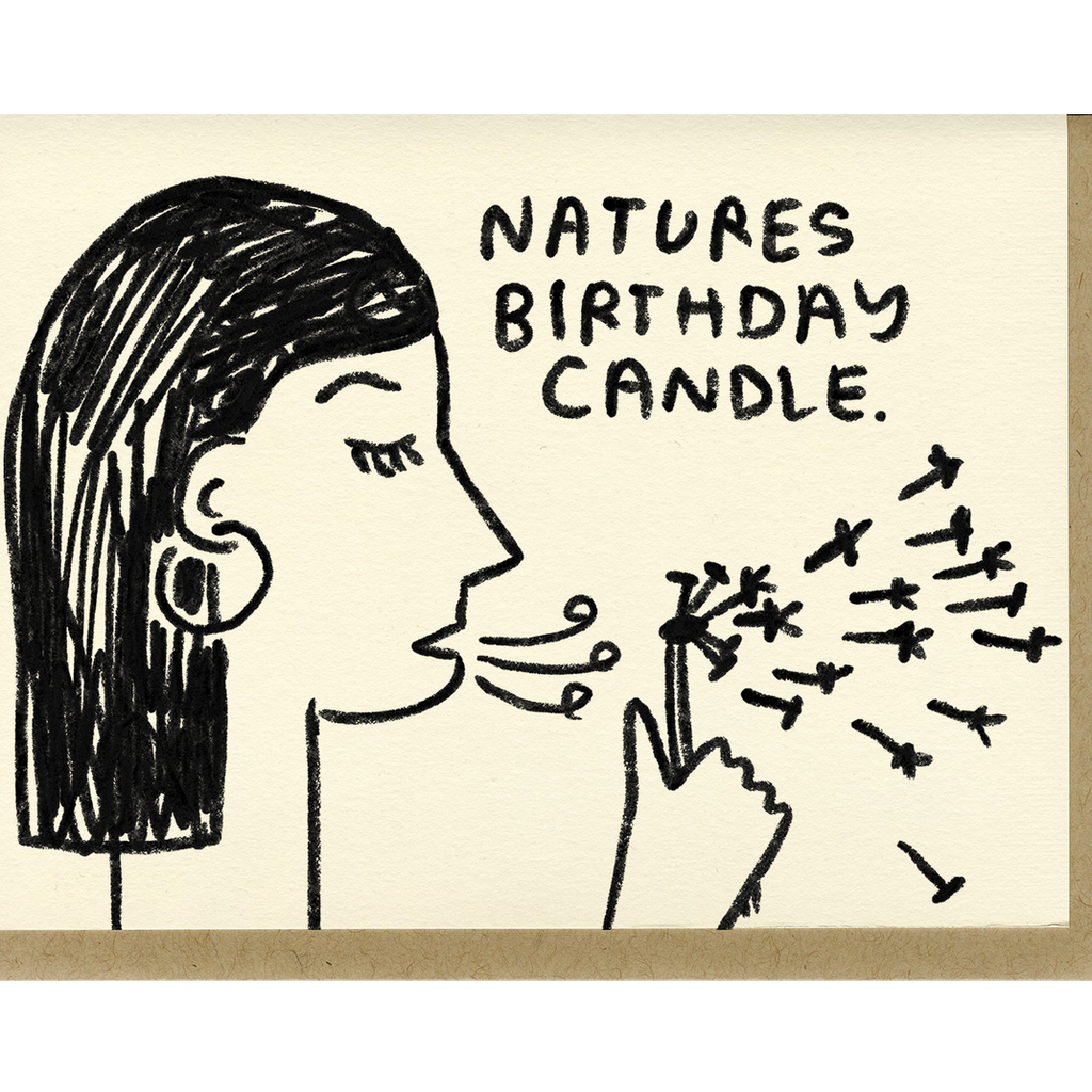 People I've Loved - Nature's Birthday Candle