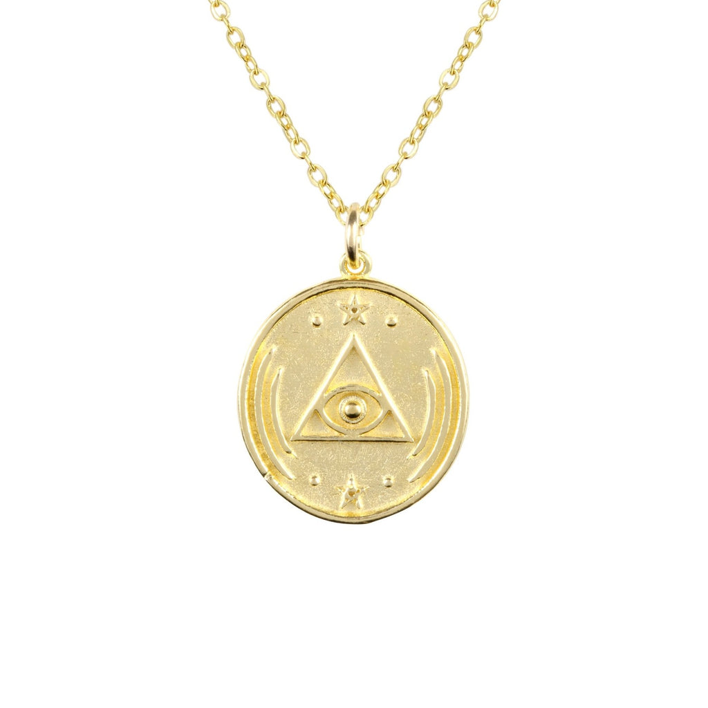 Katie Dean - All Seeing Eye Necklace