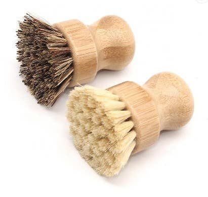 YOKE- Hemp Bamboo Veggie Brush