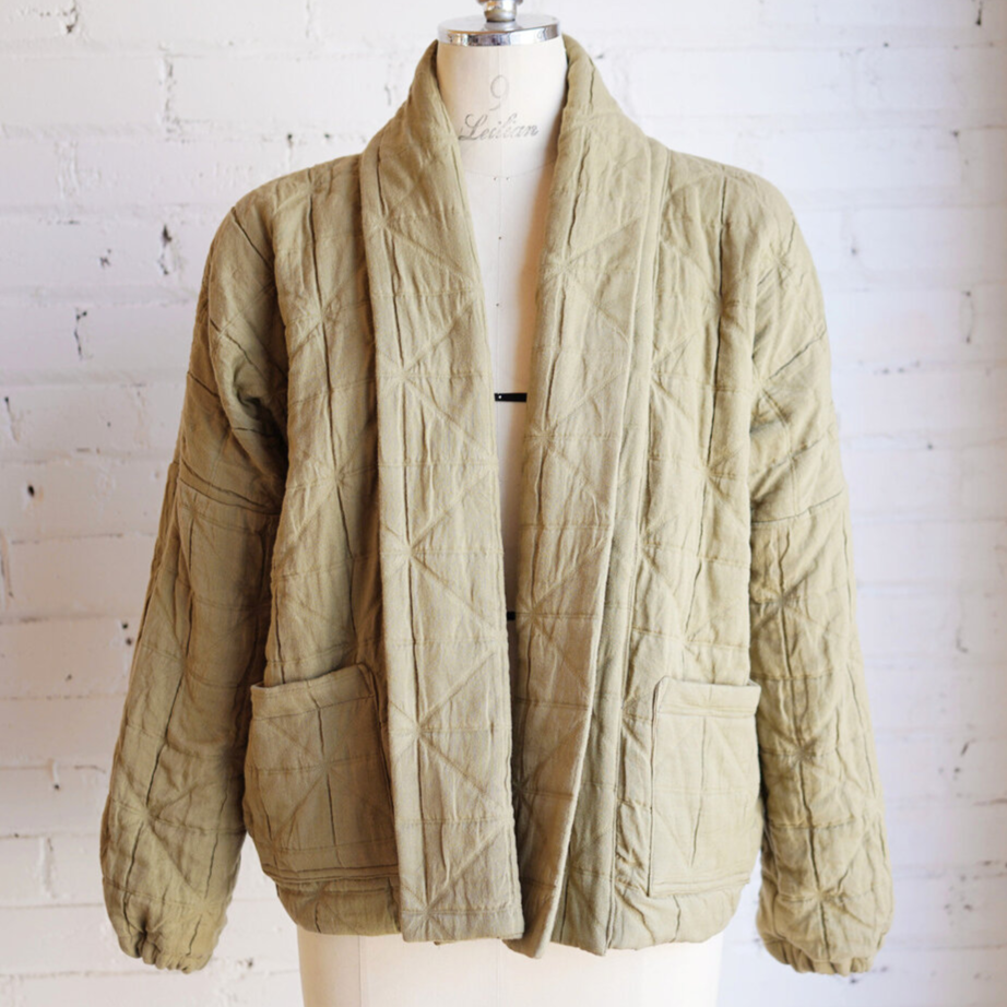 Mimi Shim Studio - Olive Short Quilted Jacket