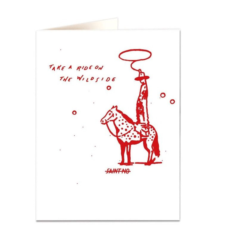 Archivist - Saint No - Wild Side Greeting Card