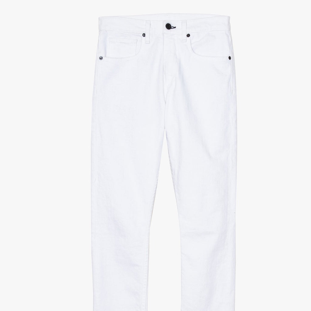 ASSK - High Rise Crop White