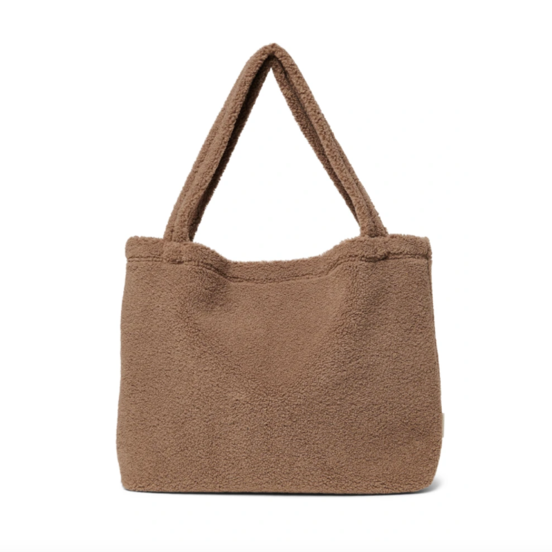 Studio Noos - Brown Chunky Teddy Mom-Bag