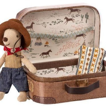 Maileg - Cowboy in Suitcase