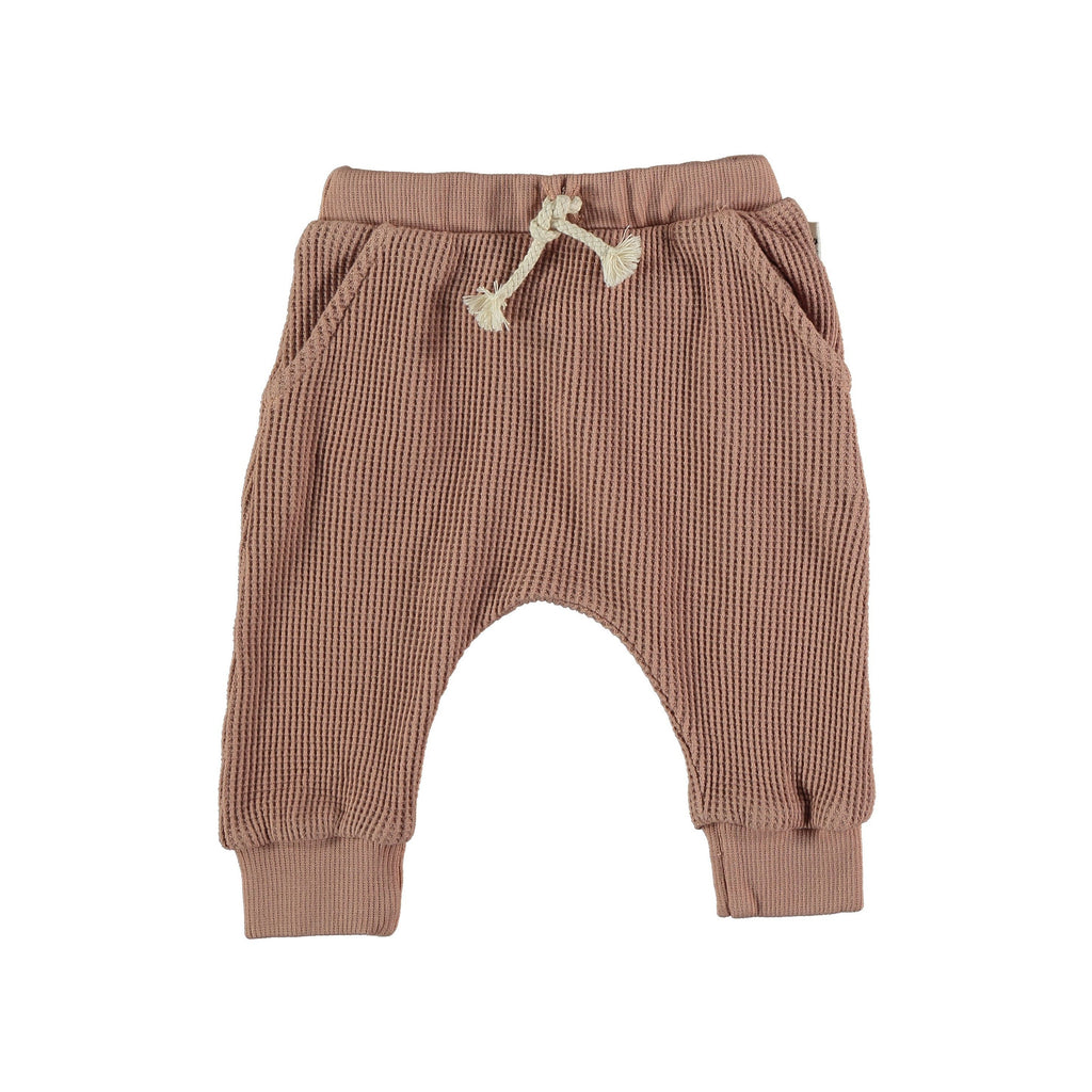My Little Cozmo - Organic Cuadrille Trousers: Terracotta