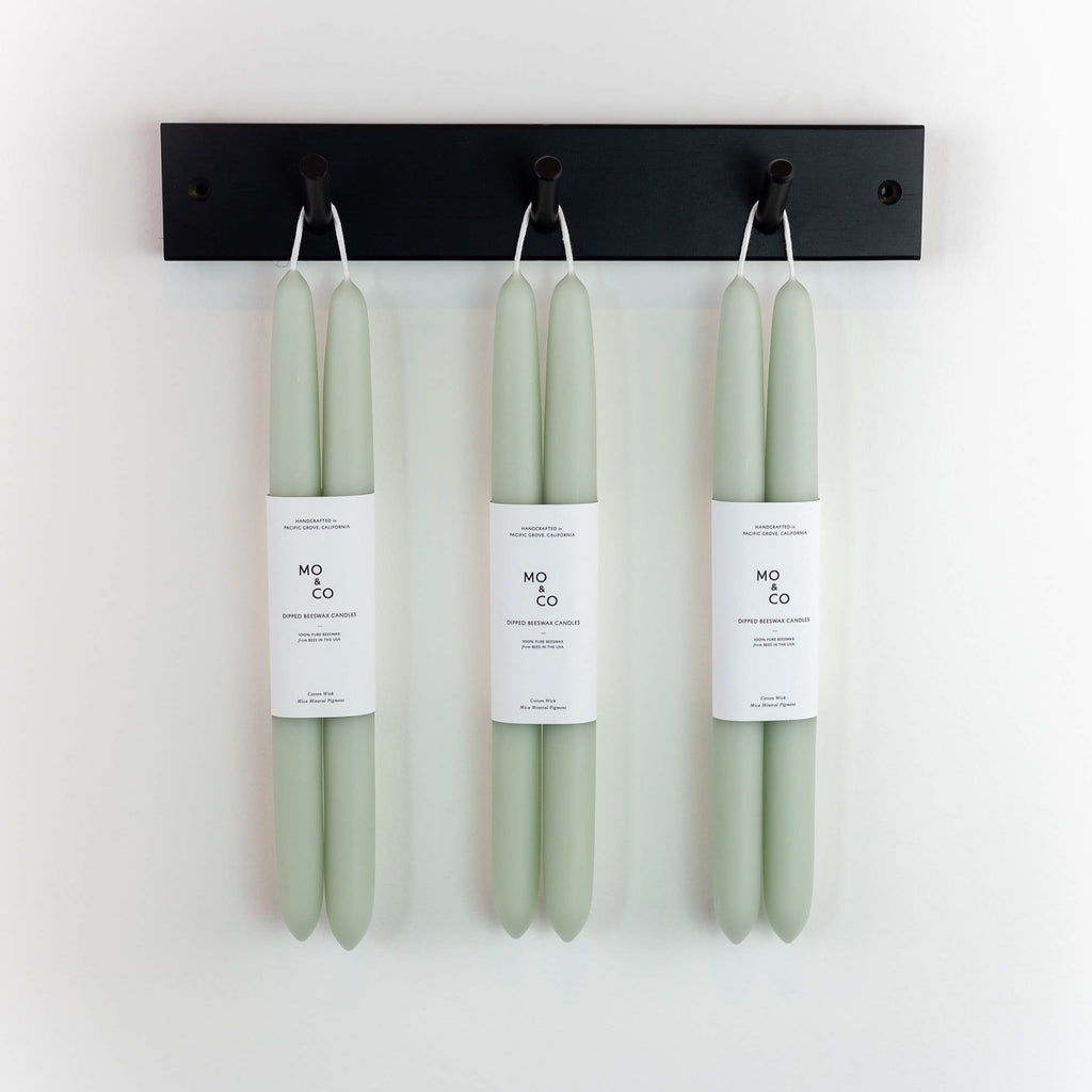 Mo&Co Home - Dipped Beeswax Candles Eucalyptus
