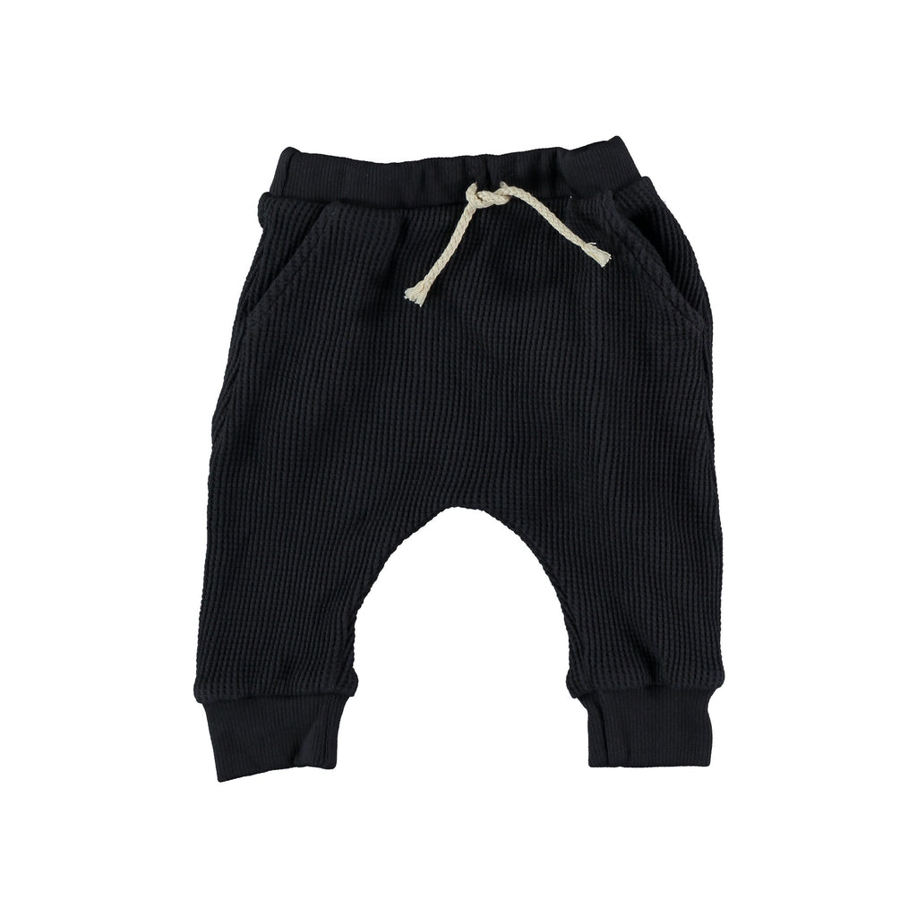 My Little Cozmo - Organic Cuadrille Trousers: Dark Blue