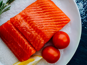 Free Shipping to Your Doorstep: Tom's Wild Alaskan Sockeye Salmon, dry ice boxed (minimum 10 lbs, ~6 individually sealed fillets)