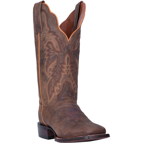 Dan Post Women's Brown Western Boots - Wide Square Toe